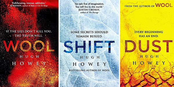 Book Review:  Dust - Final Book in the Series, by Hugh Howey (1/2)