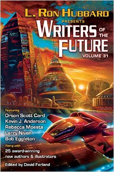 Book Review:  Writer's of the Future Vol. 31 - Cool Sci-Fi Anthology!