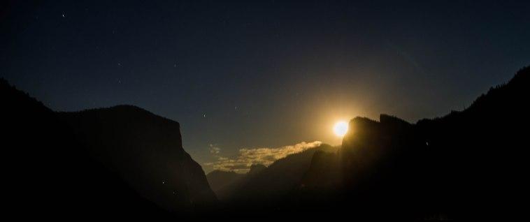 Full Moonrise, Yosemite Valley